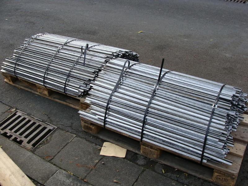 20 x Rauchstock 100 cm Alu Sternprofil Rauchstecken Räucherstecken Rauchstöcke